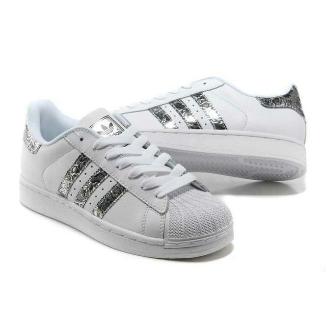 adias superstar argento