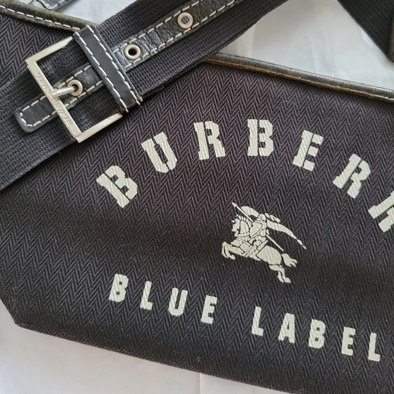 Product Image 1 - Black Burberry bag   Vintage extremely