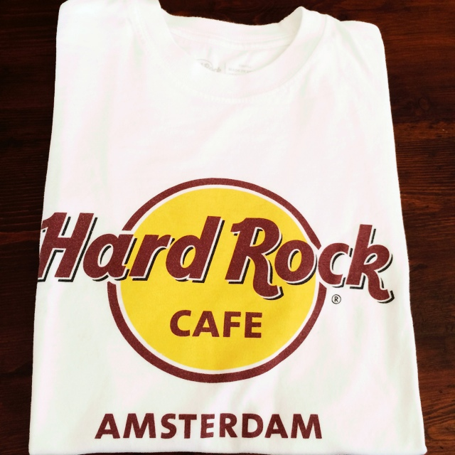 Hard Rock Cafe T Shirt Amsterdam