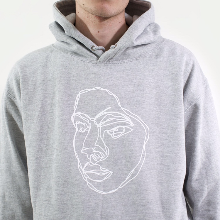 Product Image 1 - Squiggle - Grey Hoodie WE CAN