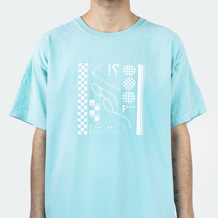 Product Image 1 - Festival Rave Washed Out Turquoise
