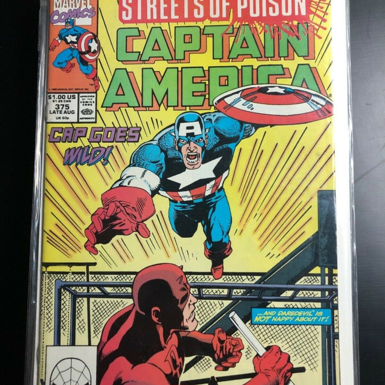 Product Image 1 - CAPTAIN AMERICA #375 (1990) Marvel