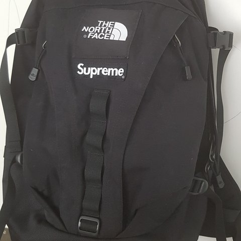 8281f001ae7 @noah100kmh. 2 months ago. Kanton Aargau, CH. Supreme The North Face  Expedition Backpack Black FW18