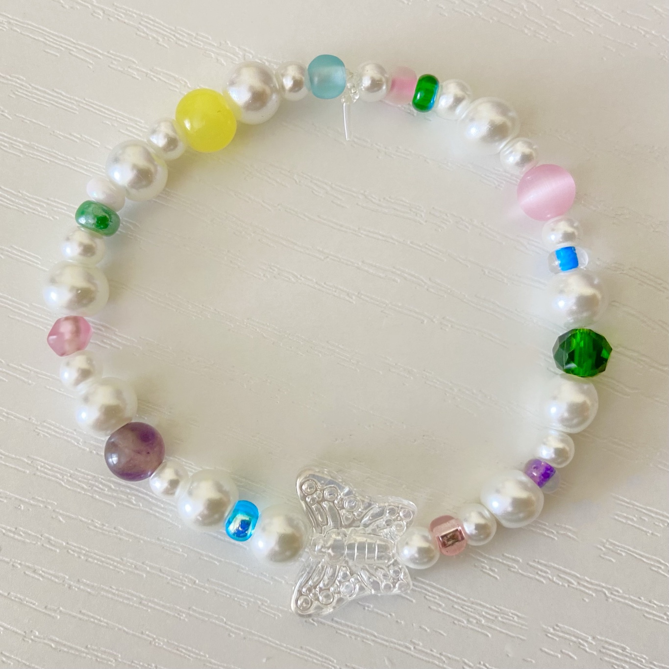 Product Image 1 - Colorful beaded pearl bracelet with