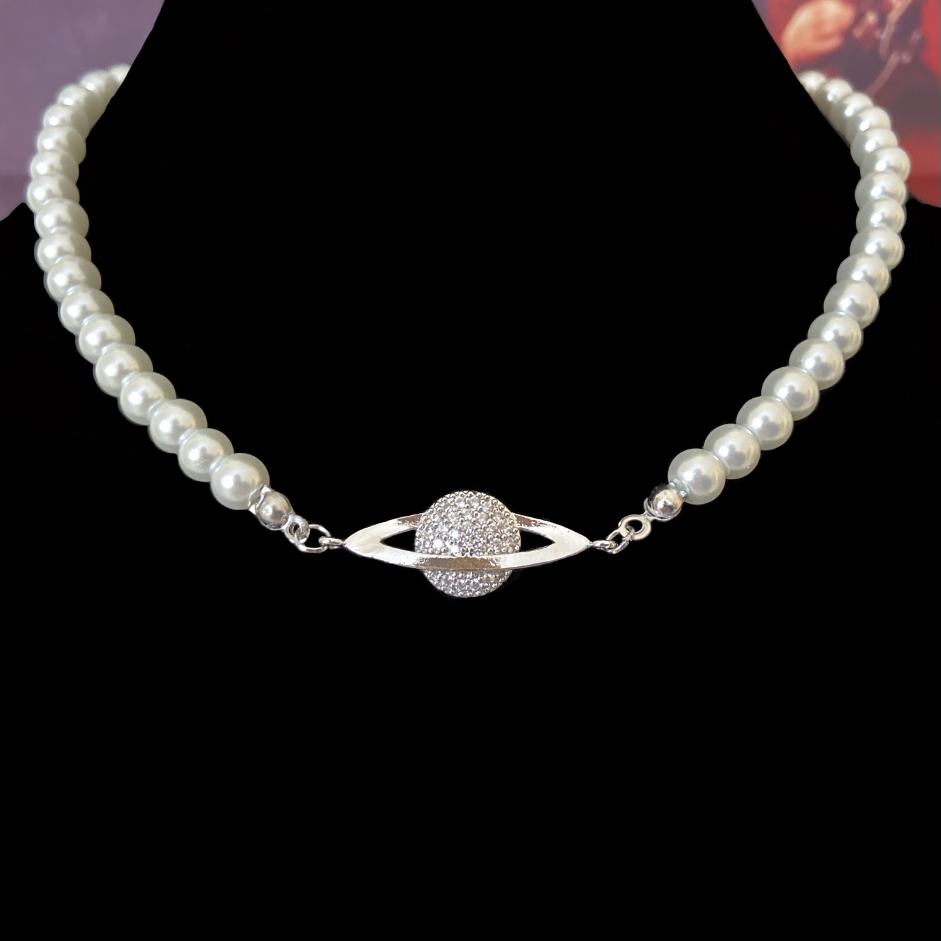 Product Image 1 - New! Y2K pearl necklace. Made