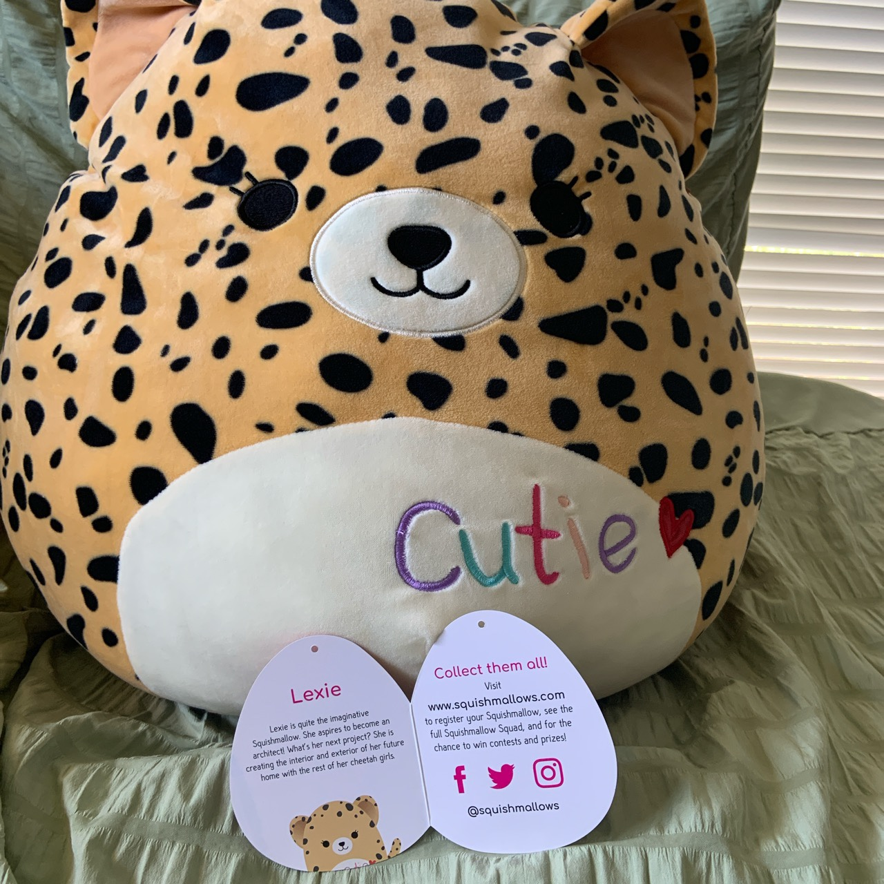 """Product Image 1 - Squishmallow 16"""" Lexie   2020 valentines"""