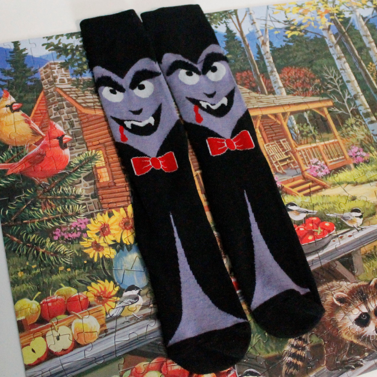 Product Image 1 - vampire socks  never worn, never washed.