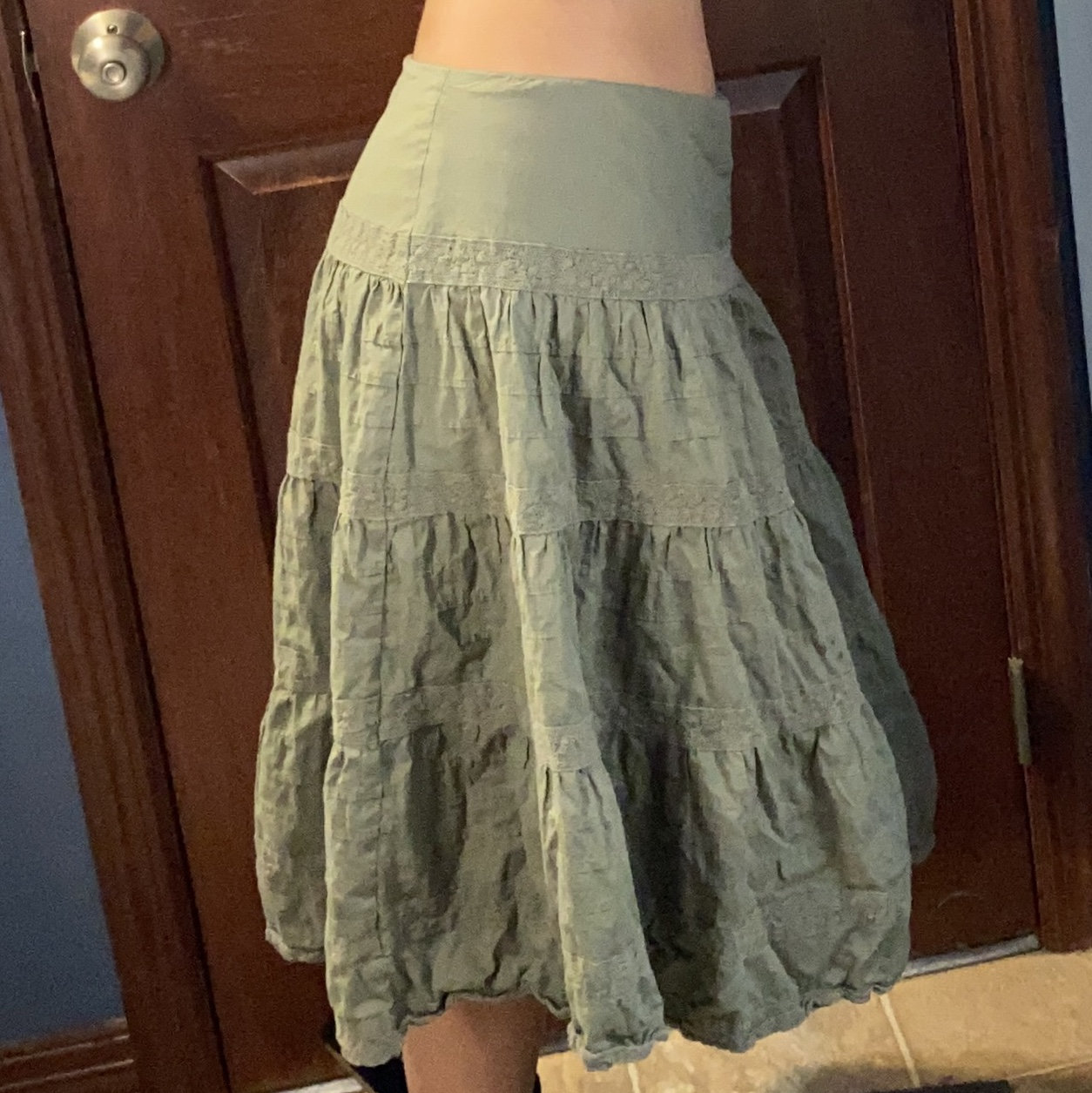 Product Image 1 - Sage green fairy skirt 🧚♂️ In