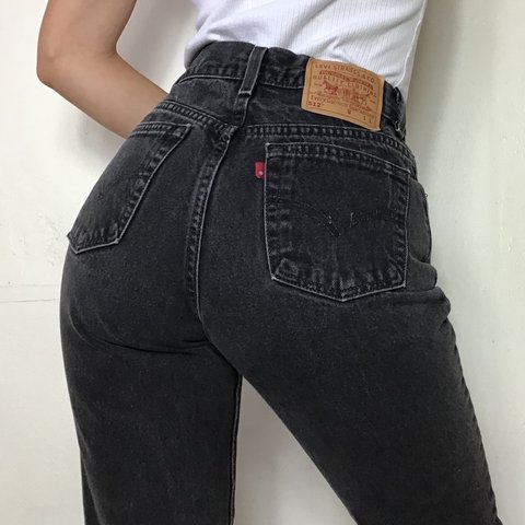 d5e672cefa0 @blupoppy. 20 days ago. United States. Vintage 90s Levi's 512 jeans. High  waisted, slim fit ...