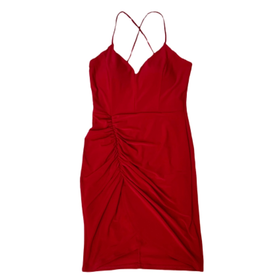 Product Image 1 - Red Mini Dress Open Middle