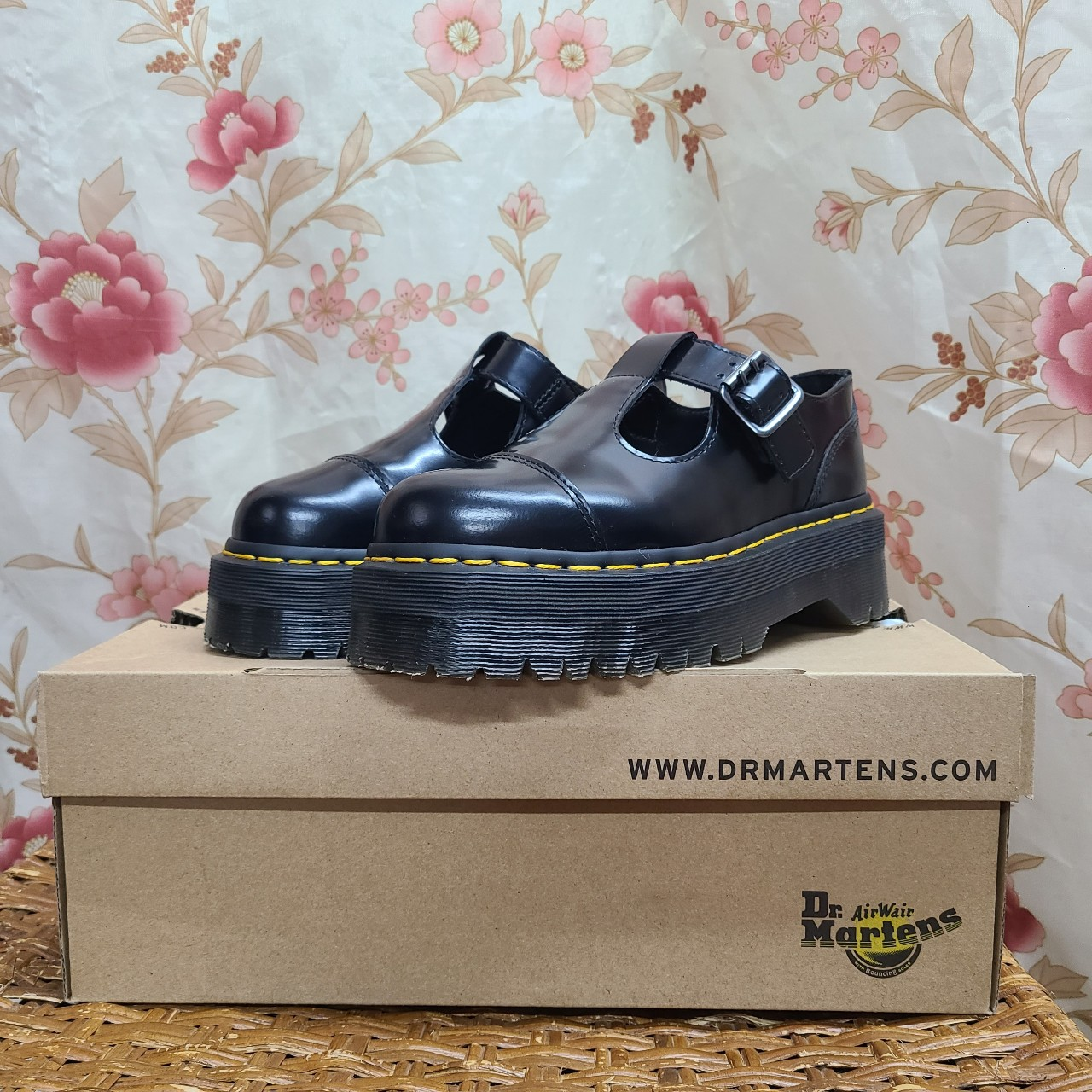 Product Image 1 - Dr Martens Black Leather Chunky