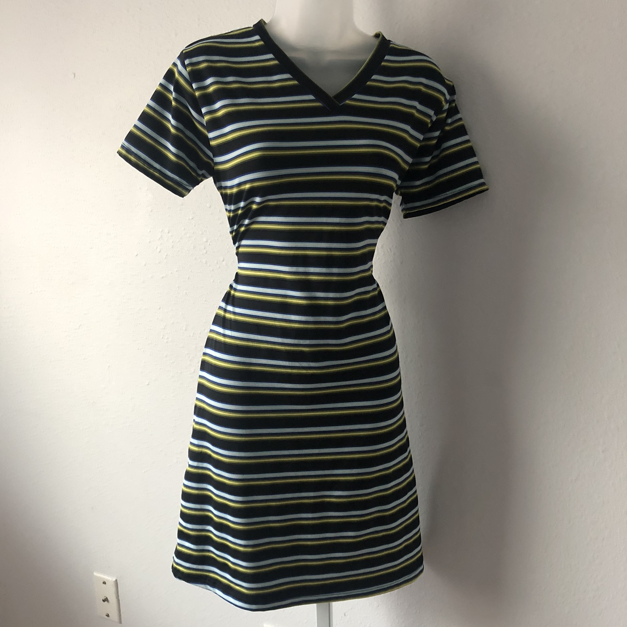 Product Image 1 - Perfect 90s Striped T-shirt Dress  This
