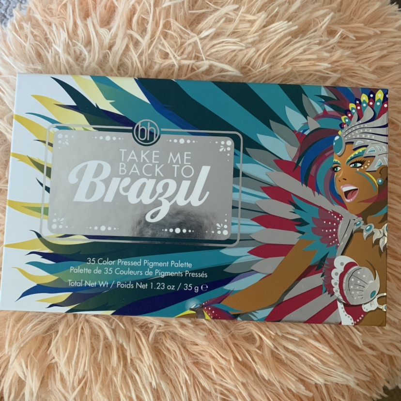 Bh Cosmetics Take Me To Brazil Palette Never Used Makeup Depop