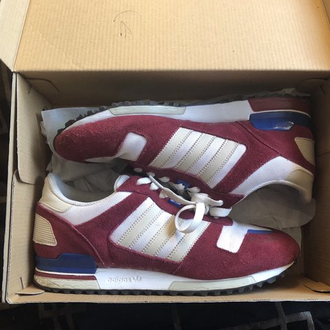 new concept 58aa7 038e0  donnhaynes. 11 days ago. London, United Kingdom. Adidas ZX 700 M - White    burgundy