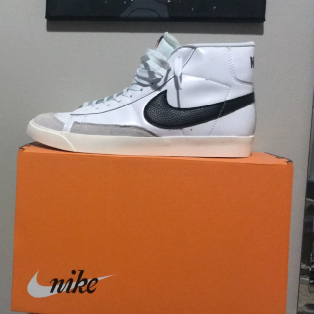 fake Nike blazer mid 77 I picked this up from a... - Depop