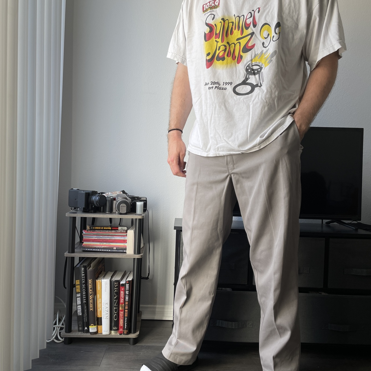 Product Image 1 - Grey Dickies 874 style pant!!  size