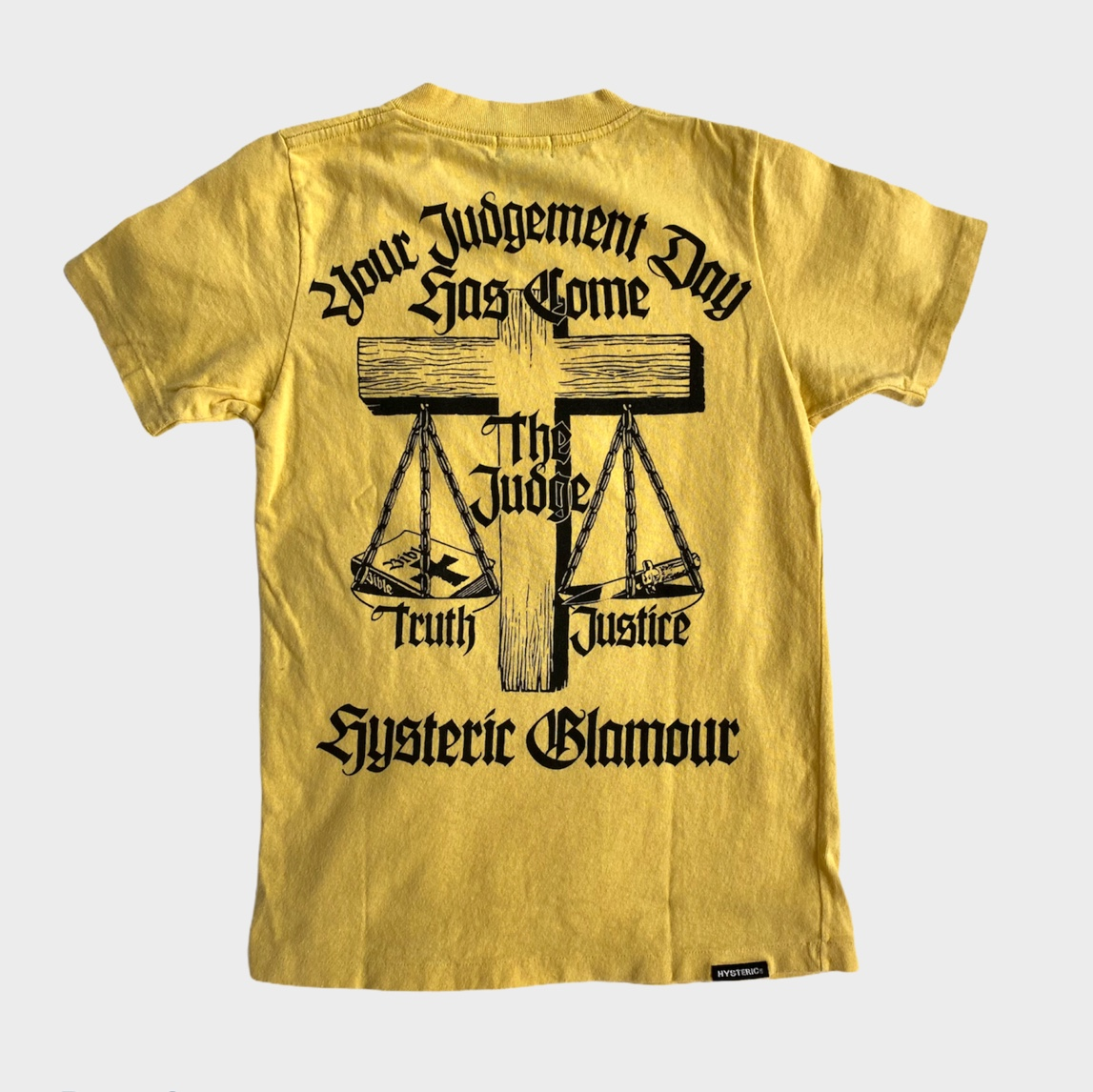 Product Image 1 - Hysteric Glamour judgement graphic tee