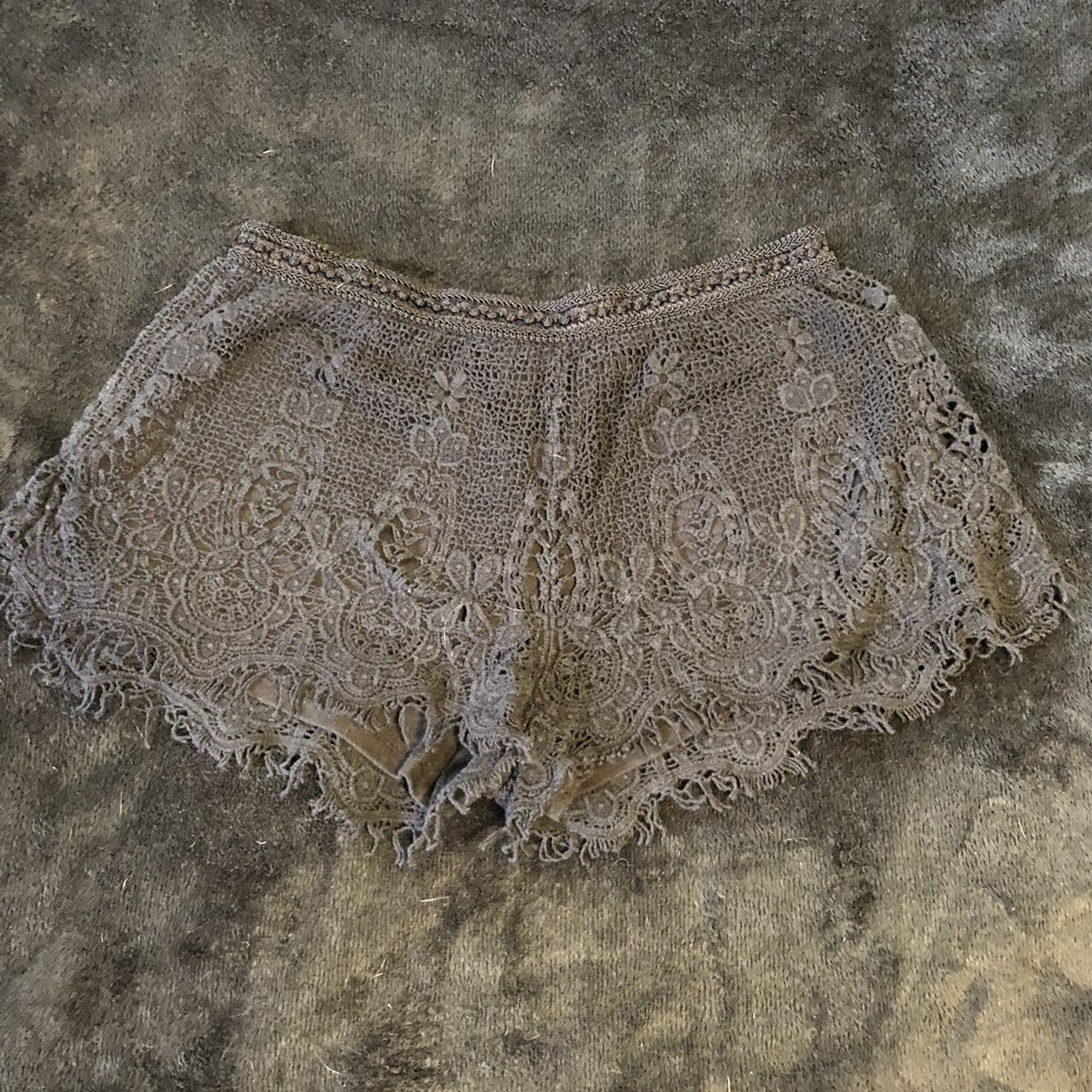 Product Image 1 - Black lace shorts with stretchy