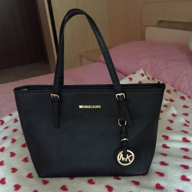 Michael Kors Jet Set Nera