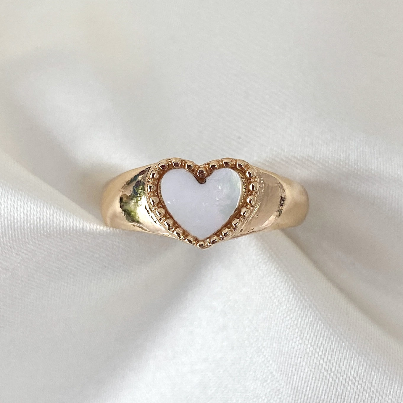 Product Image 1 - Chunky Gold Heart Ring  The cutest