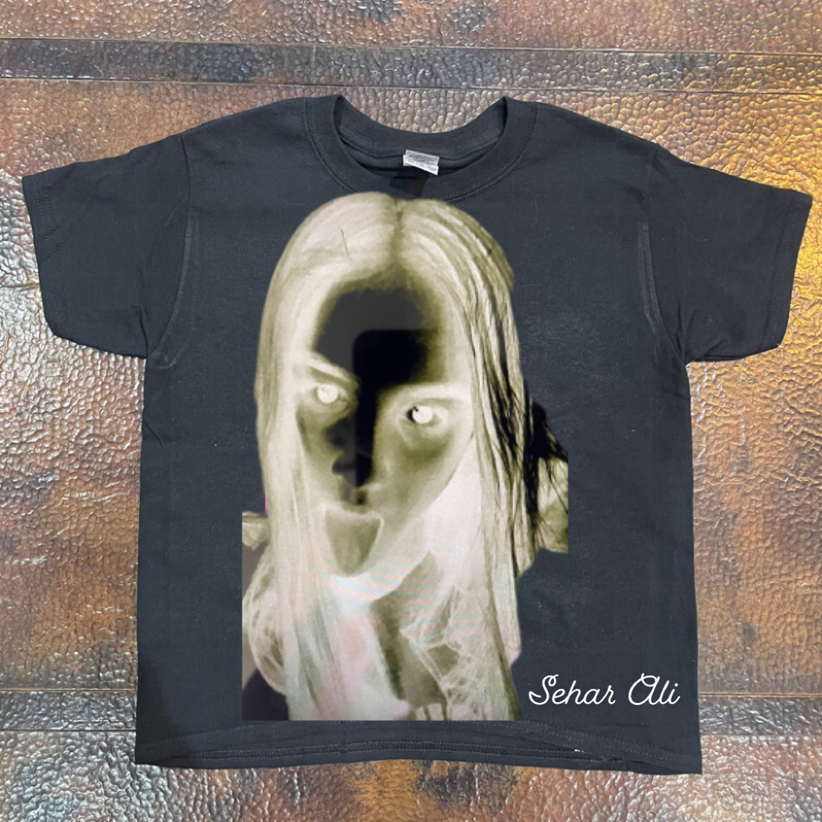 Product Image 1 - GOTHIC VISION GIRL TEE Gothic