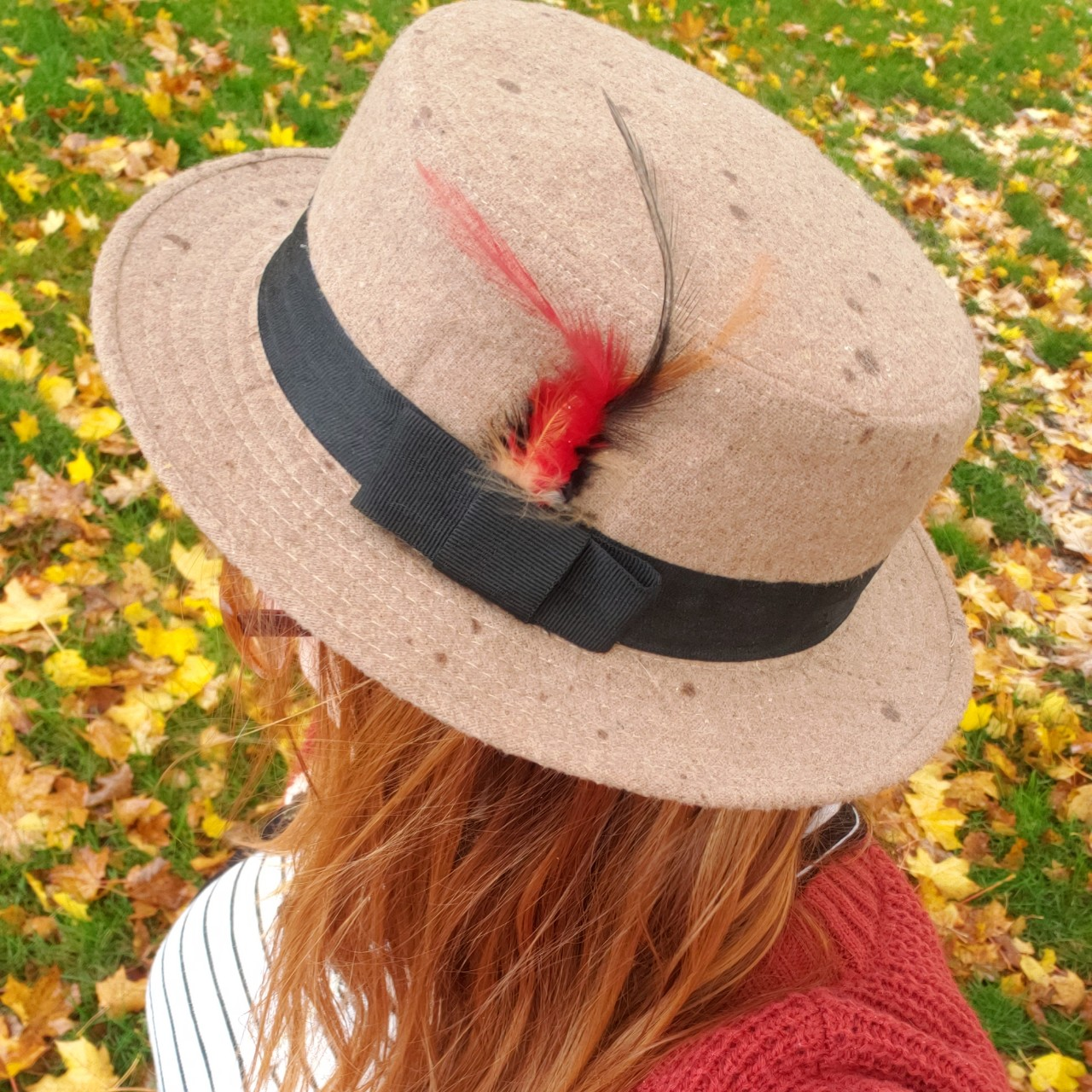Product Image 1 - ModCloth Hat with Feather Detail  Free