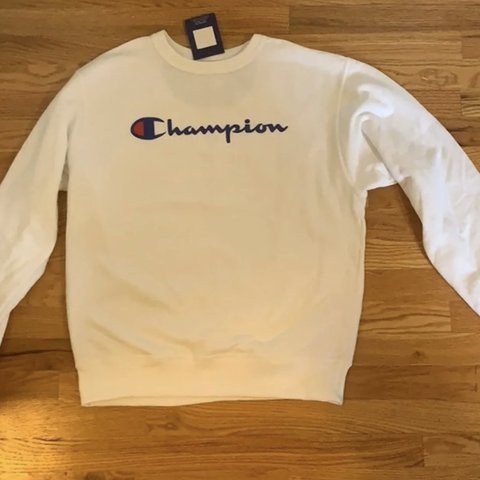 d28743890622 @mchenstore. 19 days ago. Chicago, United States. champion sweatshirt (brand  new with tags) -white