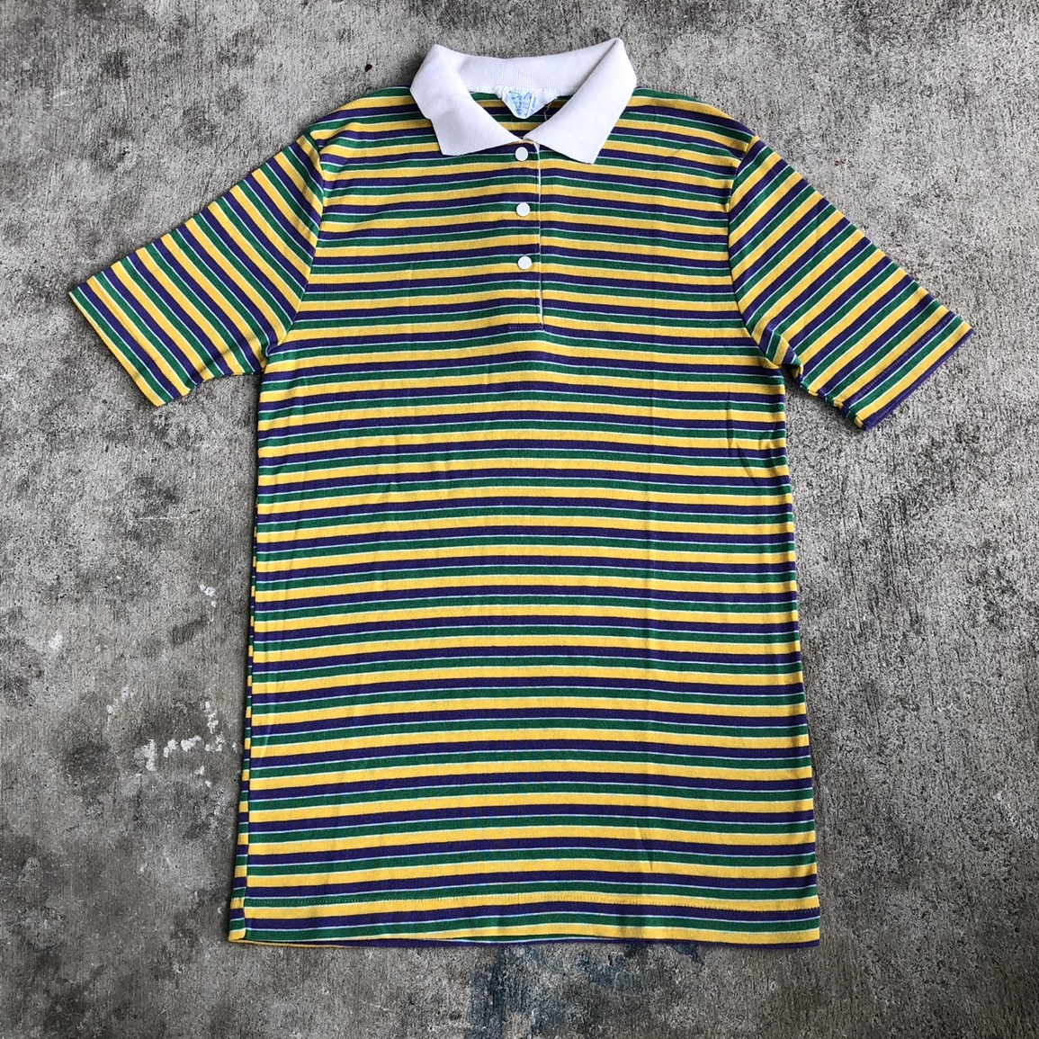 Product Image 1 - Vintage 1980s striped rugby shirt