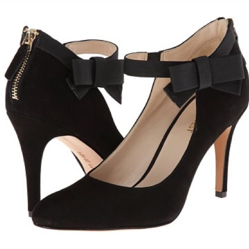 Product Image 1 - Black Suede Heels with Bow  These
