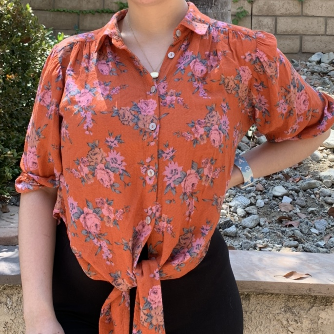 Product Image 1 - Free People Floral Top   Size: