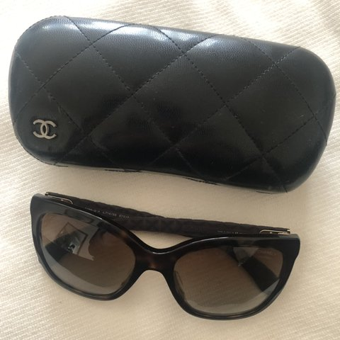 cb40aa1d0890 100% Authentic Chanel sunglasses, perfect condition - Depop