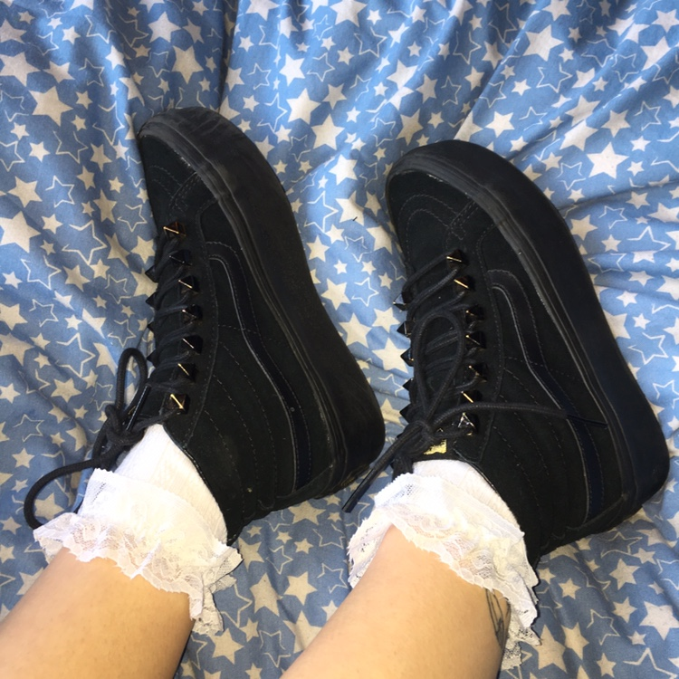 GOTHIC VANS CREEPERS ????????☠️ These are such a cool twist... - Depop