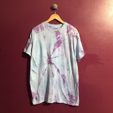 49faf94f Plain shirt I tie-dyed and never printed. Never worn. I two - Depop