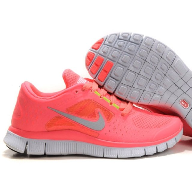 nike free rosa fluo