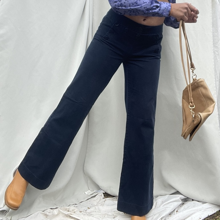 Product Image 1 - Navy Blue Bell Bottom Work