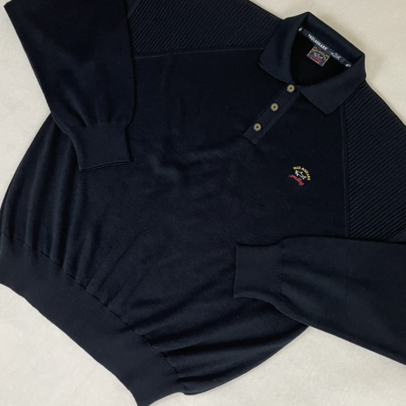 Product Image 1 - Vintage navy knit embroidered Paul