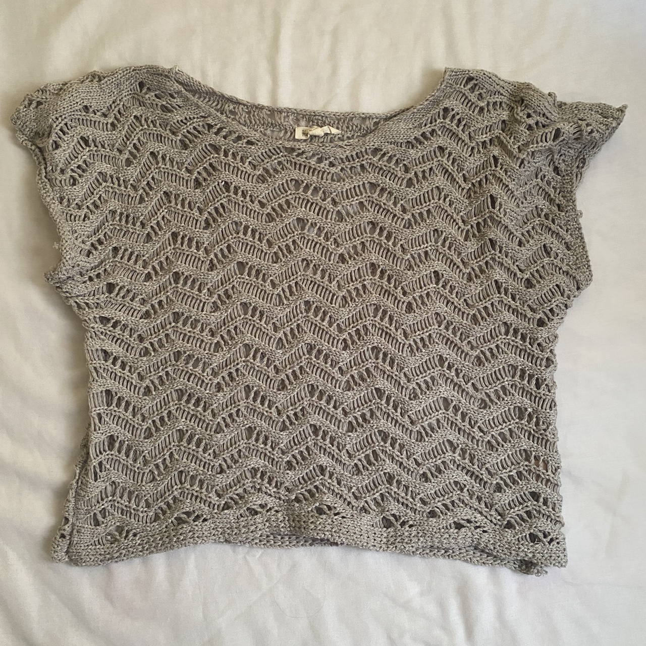 Product Image 1 - 💿 gray knitwear top 💿 perfect