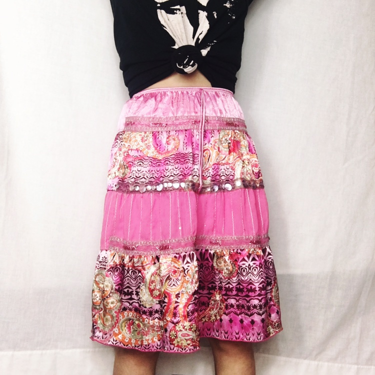 Product Image 1 - y2k boho tiered skirt  by Speechless