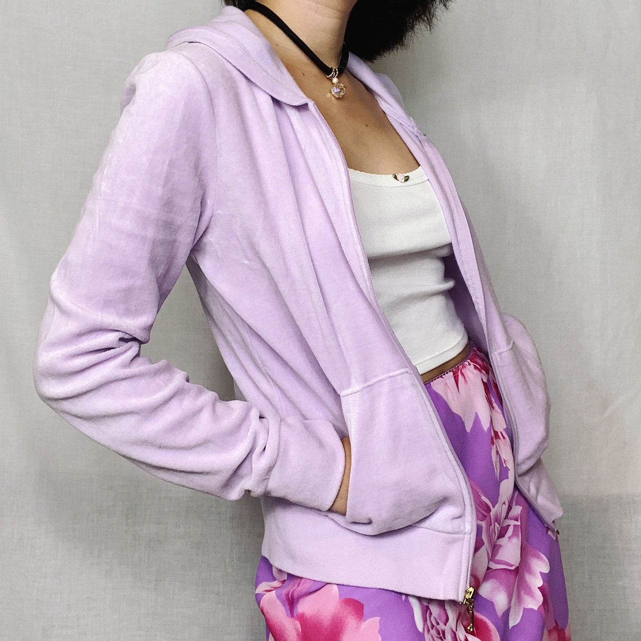Product Image 1 - juicy couture bling hoodie  pastel lilac