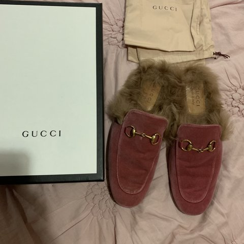9daa7925f Authentic Gucci mules comes with box and dustbag. Size UK 8. - Depop