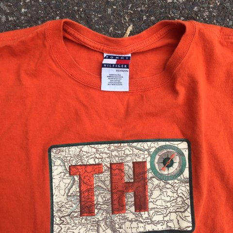 a8a1e900d @rd272865. 23 hours ago. Elizabeth, United States. Vintage 90s Tommy  Hilfiger tee!