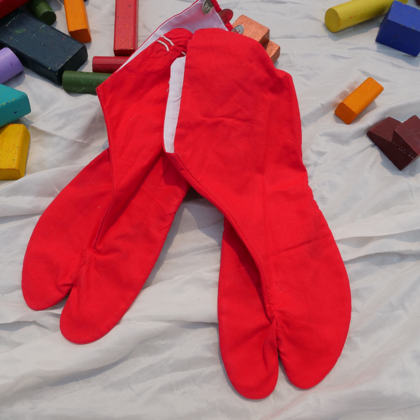 Product Image 1 - Vintage cherry red cotton tabi