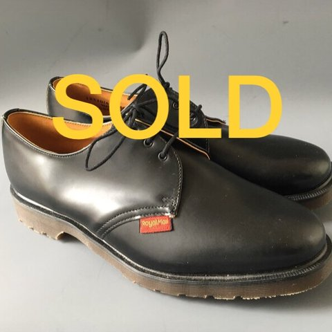 84c9ae8261e SOLD Dr martens postman shoes made in England unworn by Dr - Depop