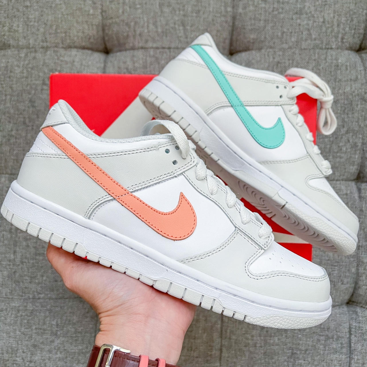Product Image 1 - 🐰 Nike dunk low coral
