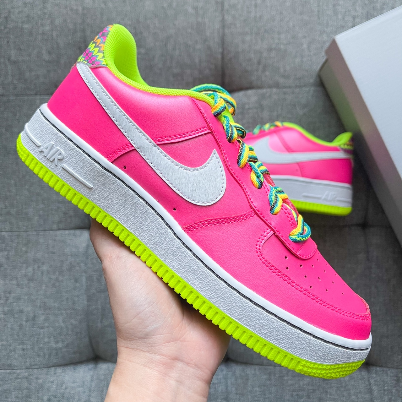 Product Image 1 - 💕🤍🍬 Nike Air Force 1