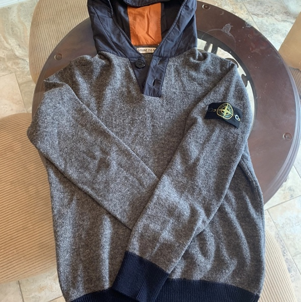Product Image 1 - Authentic Stone Island Knit Hoodie.