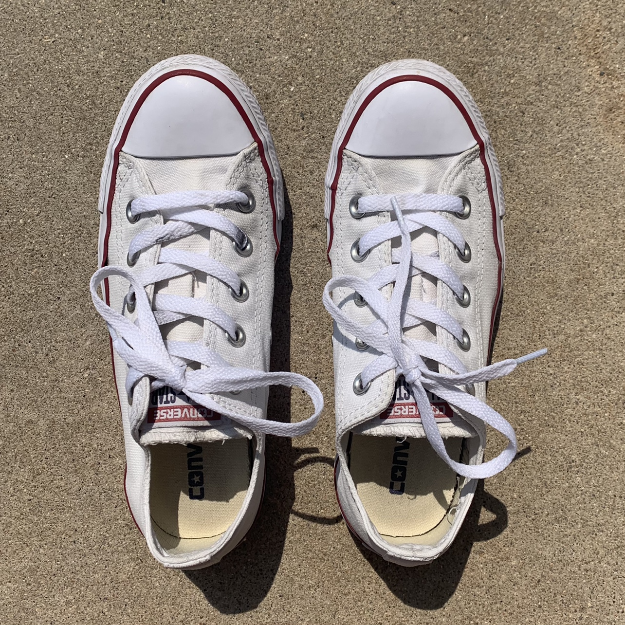 Product Image 1 - White All Star Low Top