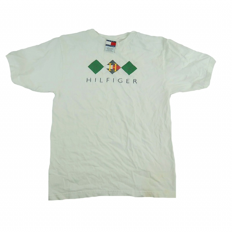 671d1d046 @davidflores. 4 days ago. United States, US. Vintage 90s Tommy Hilfiger T  Shirt Mens Small / Youth Large