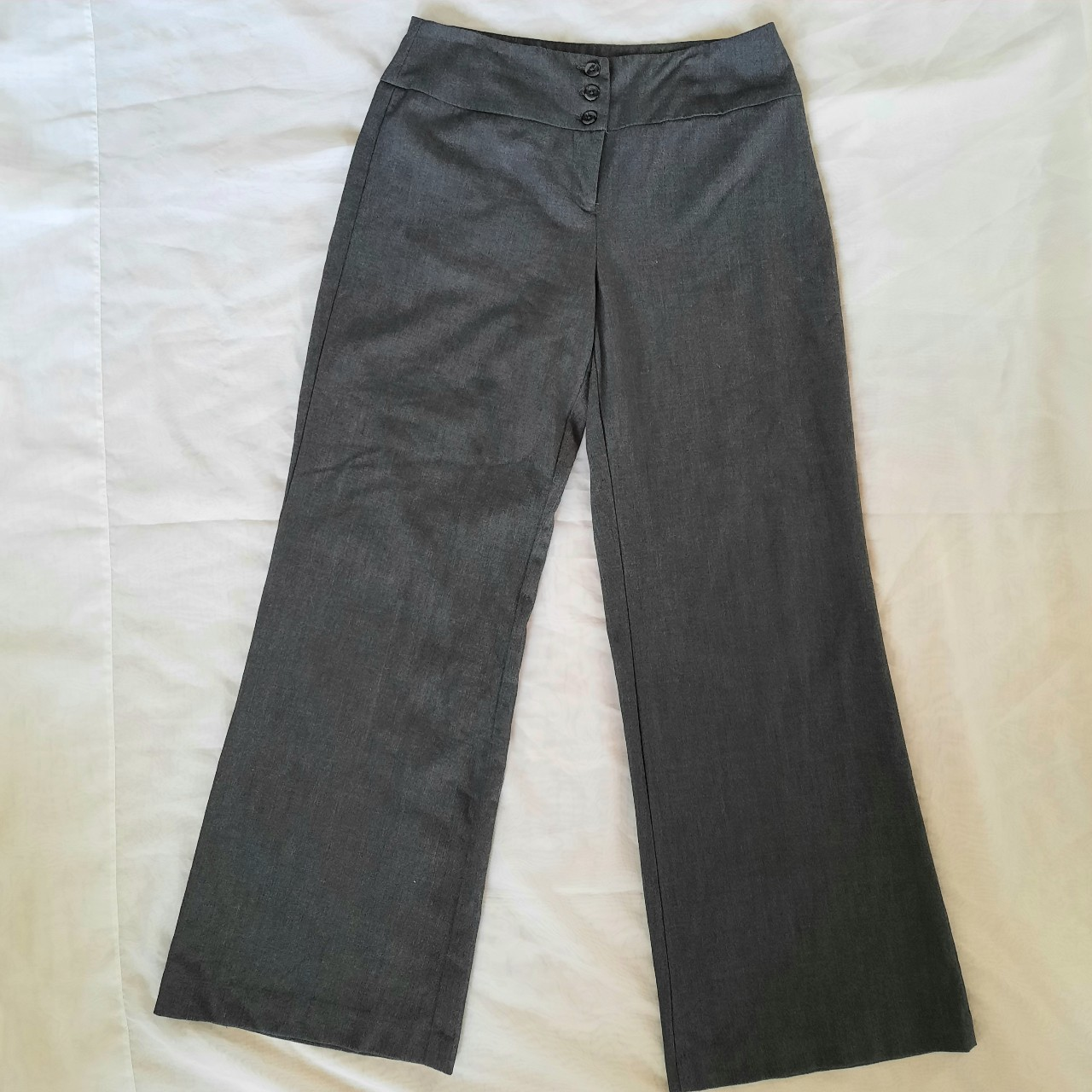 Product Image 1 - Style & Co gray wide-leg