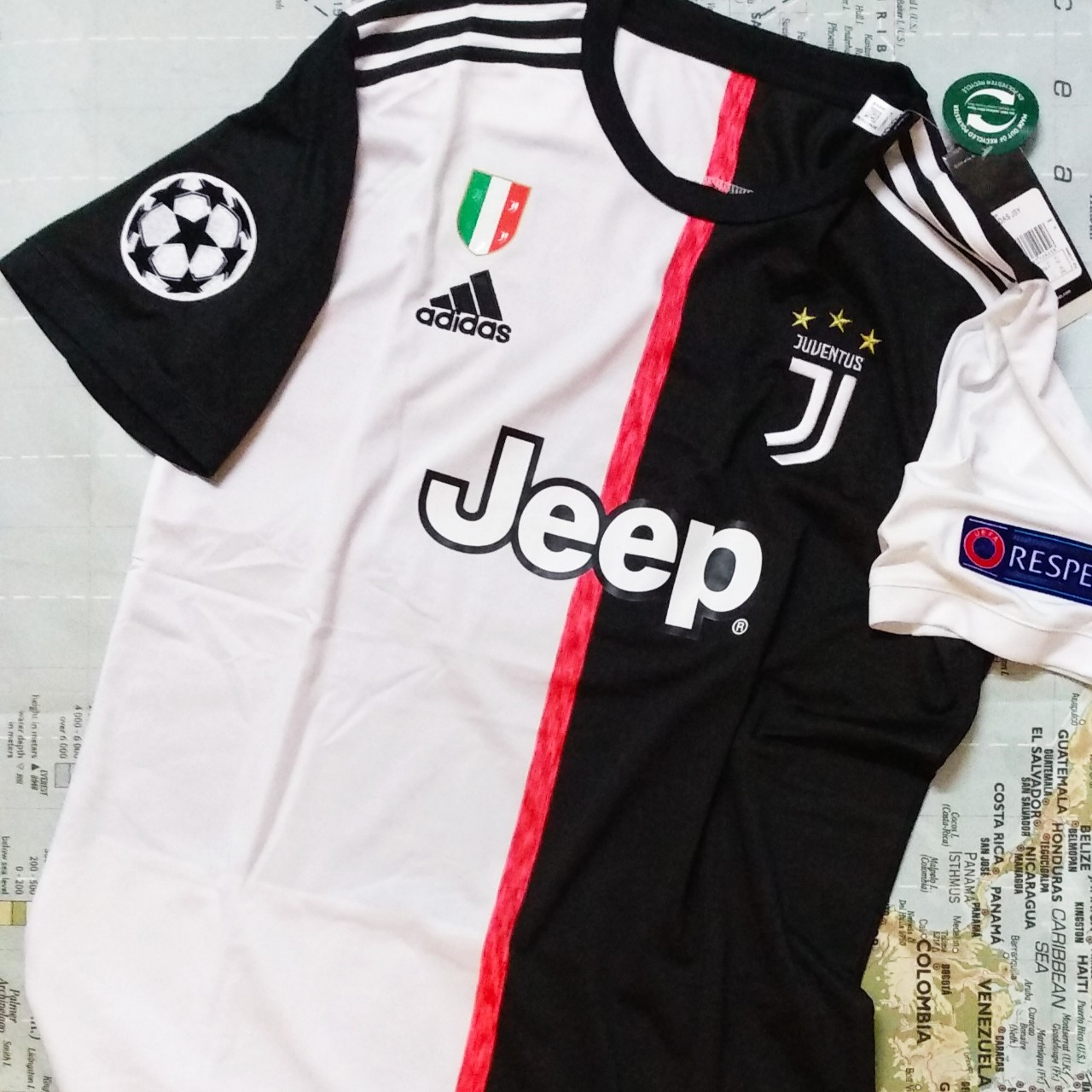 2019/20 Juventus FC Home Jersey w/UCL Patches!! Old... - Depop